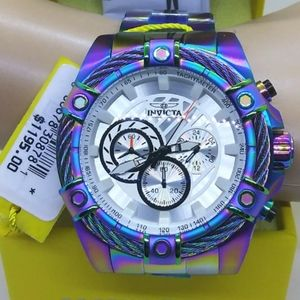 FIRM PRICE 100%-NEW Invicta Bolt Iridescent Watch